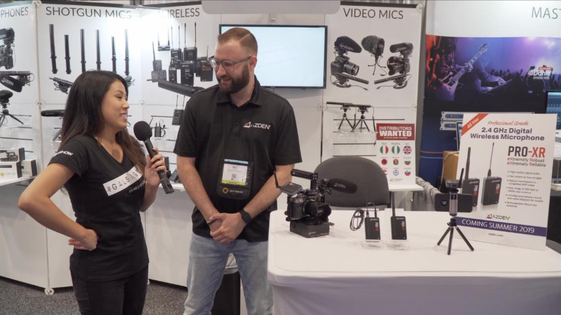 New Azden PRO-XR Wireless Microphone System Under $250